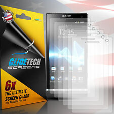 6X HD Clear Screen Protector Cover Film Guard for Sony Experia S T26i