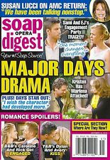 Days of Our Lives, J.R. Martinez, Brody Hutzler  Oct. 14, 2013 Soap Opera Digest