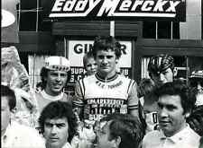 EDDY MERCKX Cyclisme Press Photo ciclismo Cycling Vermeulen luc van parijs