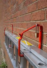 Ladder Storage Bracket for Wall or Shed - Keeps Your Ladder Secure & Safe!
