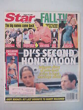 Star Magazine 8-27-1991. Princess Diana! Knots Landing! Brady Bunch- Alice!