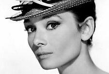 Framed Print - Audrey Hepburn Classic Hollywood Actress (Picture Poster Art)