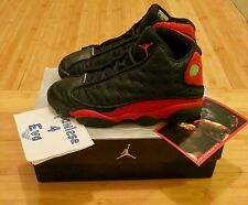 2004 Nike Air Jordan 13 XIII Retro Bred Black Cat True Red 3M Size 9 OG Playoff