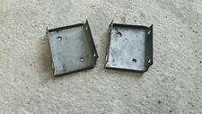 LANDROVER SERIES 2 2A 3 SWB REAR TUB TO DOOR LATCH SUPPORT BRACKETS