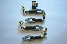 SET OF 4 LED INDICATORS WITH FREE 2 PIN LED RELAY FOR APRILIA RS125 ALL YEARS