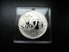 Salomon Inseln - 10 Dollar 2008 - OLYMPIADE LONDON 2012 DISKUSWERFER - SILBER PP