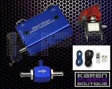 Blue Adjustable Turbo Dual Stage Manual Boost Controller Kit Rx7 MX5 Mazdaspeed