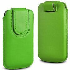 Magnetic PU Leather Pull Tab Flip Case Cover Pouch for Various Mobile Phones