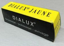YELLOW DIALUX JAUNE YELLOW METALS POLISHING COMPOUND ROUGE BRASS COPPER POLISH