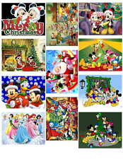 DISNEY CARTOON CHRISTMAS,  PHOTO-FRIDG MAGNETS