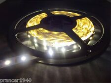 Lights Only - Warm White LED Cabinet Lights Tape Strip 3528 SMD 5 Meters 16.4'