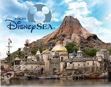 Japan - TOKYO DisneySEA - Travel Souvenir Flexible Fridge Magnet