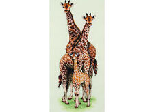 Anchor-counted cross stitch kit-girafe famille-PCE740