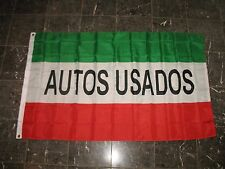 3x5 Autos Usados (Used Cars) Advertising Flag 3'x5' Banner Brass Grommets