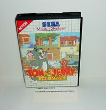 JEU SEGA MASTER SYSTEM COMPLET TOM AND JERRY THE MOVIE