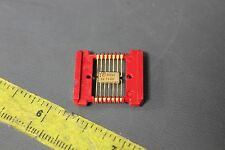 VINTAGE 1969 NOS RARE TEXAS INSTRUMENTS GOLD FLAT PACK IC PROCESSOR CHIP SN7400F