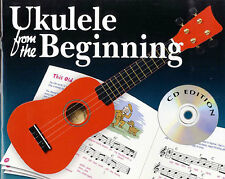 Ukulele From The Beginning Kids Children Learn to Play Uke Music Book & CD