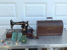 SINGER SEWING MACHINE MODEL 99K AND DOME CASE (CM-J)