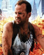Bruce Willis Autographed 8 x 10 Die Hard Photograph Officer John McClane COA