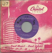 JOE BUCCI DUO Blue and sentimental FRENCH SINGLE CAPITOL