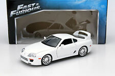 Brian 's TOYOTA SUPRA Fast and Furious BIANCO 1:18 Jada Toys