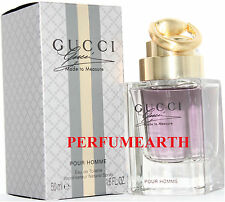 GUCCI MADE TO MEASURE1.6 / 1.7 OZ EDT SPRAY FOR MEN NEW IN A BOX BY GUCCI