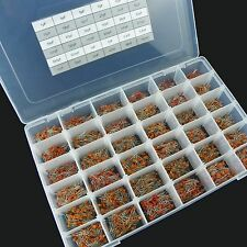 36value 3600pcs Ceramic Capacitors Disc 50V Assortment Box Kit