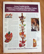 1969 Arrow Cordials Ad  Nell Gwyn London Loved Her Ways