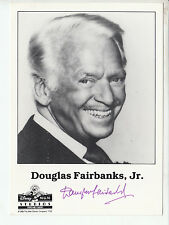 Douglas Fairbanks Jr. (+2000) TOP AK Orig. Sign. u.a. Love Boat + G 5178