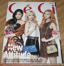 CECI GIRLS' GENERATION TAETISEO HYOYEON APINK KOREA MAGAZINE 2015 SEP SEPTEMBER
