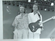 PHIL COLLINS STING PHOTO LIVE AID 1985 HUGE UNRELEASED 16 INCH UNIQUE IMAGE GEM