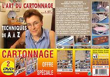 Lot 2 DVD L'art du cartonnage : Techniques de A à Z et Pratiques de A à Z