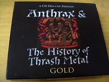 ANTHRAX & CO THE HISTORY OF TRASH METAL DCD TESTAMENT PAUL DIANNO DAMAGE INC