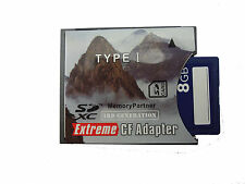 DSTE DQ0201 SDHC SD MMC to Compact Flash CF Type I Card Adapter Converter 64G
