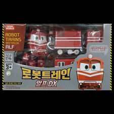 Robot Trains DX ALF Transforming figure & Train Set Robot Toy Korean Animation
