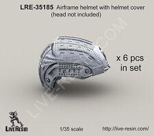 Live resin 1/35 #35185 cellule casque avec casque housse