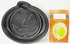 Halloween Pumpkin Baking Pan & Gelatin Brain Molds