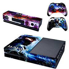 EXCLUSIVE BEST DESIGN XBOX ONE SKIN STICKER HALO 5 Master Chief Colorful
