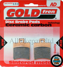 Honda QA 50 Front Sintered Brake Pads 1994 Onwards - Goldfren - QA50 QA-50