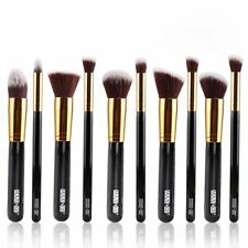 Professional 10pcs Cosmetics Makeup Kabuki Foundation Blending Blush Brush Set