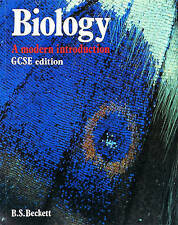 BIOLOGY: A MODERN INTRODUCTION: GCSE EDITION, B. S. BECKETT, Used; Good Book