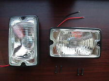 Peugeot 205 GTI driving lights lamps NEW CLEAR Mi16 DIMMA fog d turbo Griffe XS