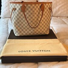 Louis Vuitton Neverfull MM Damier Azure Tote with Dust Bag, Box & Receipt