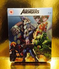 STEELBOOK Blu-ray Ultimate Avengers  [ Edition Limitee  ] Disc Bouge