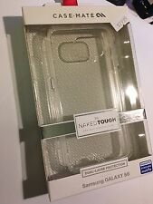 CASE-MATE NAKED TOUGH Clear Protector Case for Samsung Galaxy S6 CM032321 Br/New