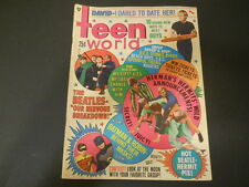 Adam West, Burt Ward, The Beatles, Herman's Hermits - Teen World Magazine 1966