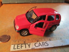 Red NIVA CHEVROLET Roll Back Action Scale 1:38 - NEW WITHOUT BOX