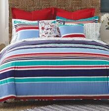New Tommy Hilfiger Dunmore King Size Comforter With 2 King Shams