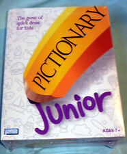 Pictionary Junior JR NIB New Factory Sealed Board Game 2005 Quick Draw For Kids