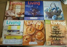 MARTHA STEWART LIVING MAGAZINE  Lot of 6 2001 - 2012